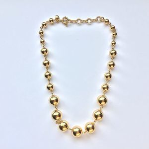 NEW J.CREW Gold Ball Necklace